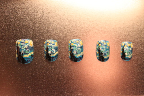 Inspired by Van Gogh's Starry Night