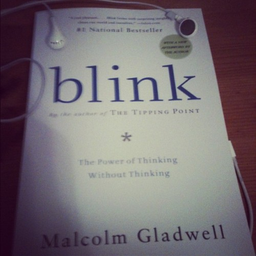 #Blink excellent book (Taken with instagram)