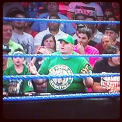 Jerry from Parks and Rec WOULD be a John Cena fan #OTL #DamnItJerry (Taken with instagram)