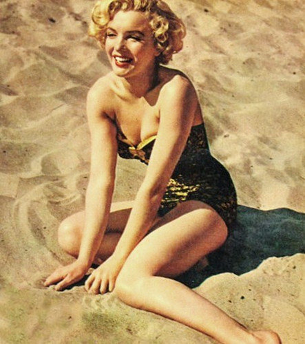 "Marilyn Monroe in ""Make It Legal,"" 1951 via: The Lingerie Addict"
