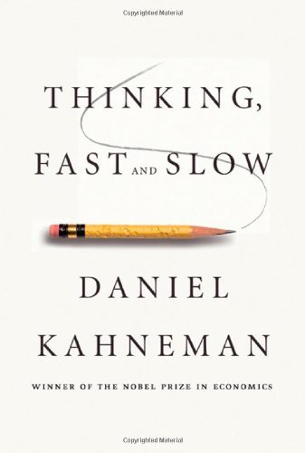 "52for52:  Thinking, Fast and Slow Daniel Kahneman ★★★★☆ Humans. Another book by a Nobel Prize laureate. There might be a theme here. I pre-ordered this book late last year in hopes of gaining a more complete and coherent understanding of human behavior, decisions, judgement and biases, delivered by Daniel Kahneman, a psychologist whose work has challenged the rational model of human behavior and impacted economics, public policy, medicine and politics. Mission accomplished. ""Thinking, Fast and Slow"" provided a coherent framework that allows me to understand my prior pieces of knowledge about human behavior beyond knowing what people will do in situation X or Y, but also understand why this happens and what might cause different behavior than expected. Daniel Kahneman brings together biases, System 1 and System 2, Humans and Econs, framing, loss aversion, risk seeking, overconfidence and many other concepts in a thorough and coherent story about us, humans. ""Thinking, Fast and Slow"" is an incredible book for anyone who is interested in understanding how humans make decisions and process information. With its numerous personal examples and scientific experiments linked in a coherent story, this book is a good guide to human behavior for people who consider humans perfectly rational and for people who have basic knowledge of behavioral economics. More importantly, with its practical advice and different techniques on when to trust intuition and how to tap into the benefits of slow thinking, this is a great self-help book. A few of my favorite takeaways are: Cognition is embodied. We think with our bodies, not only with our brains. Familiarity is not easily distinguished from truth. People are unwilling to deduce the particular from the general and willing to infer the general from the particular. Prediction matches evaluation. Creativity is associative memory that works exceptionally well. (For more on this, read Jonah Lehrer's ""Imagine."")"