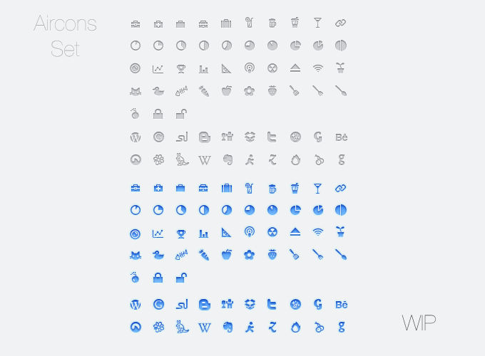 (via Aircons WIP « Freelance Graphic Designer – Icons & User Interfaces)