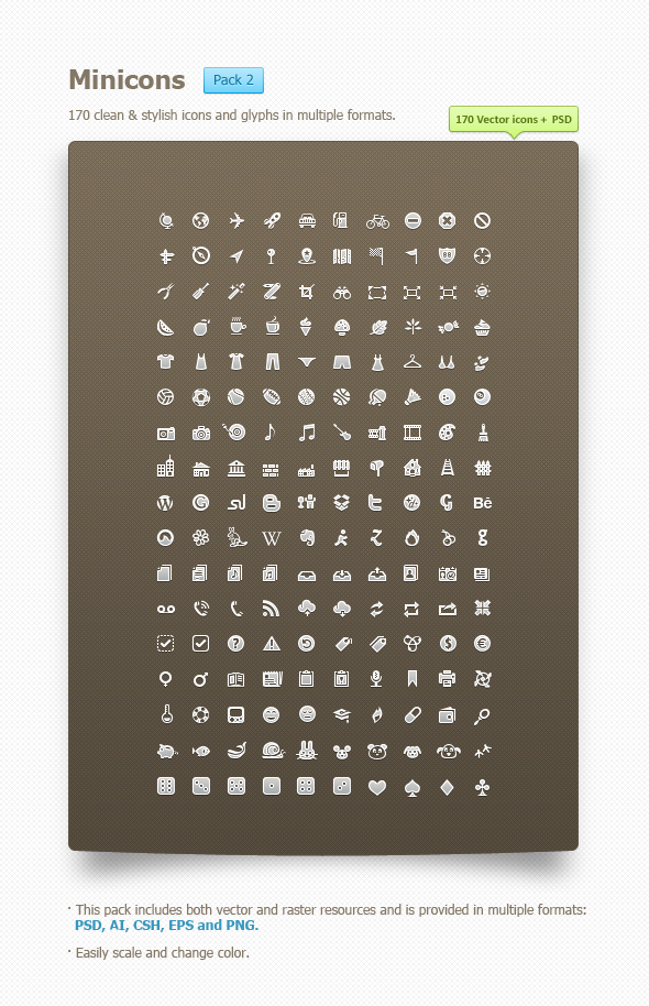 (via Minicons Pack 2 « Freelance Graphic Designer – Icons & User Interfaces)