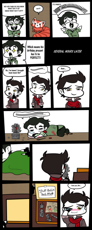 tinybolinandmako:  Bolin's Hero  ^___^ Aww…I totally ship this brotherhood.