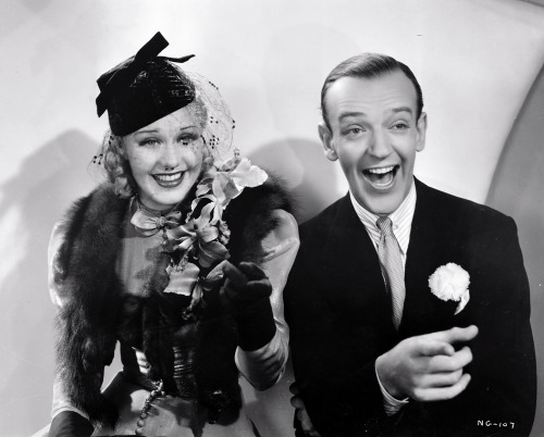 lynxolita:  Ginger Rogers and Fred Astaire in Swing Time