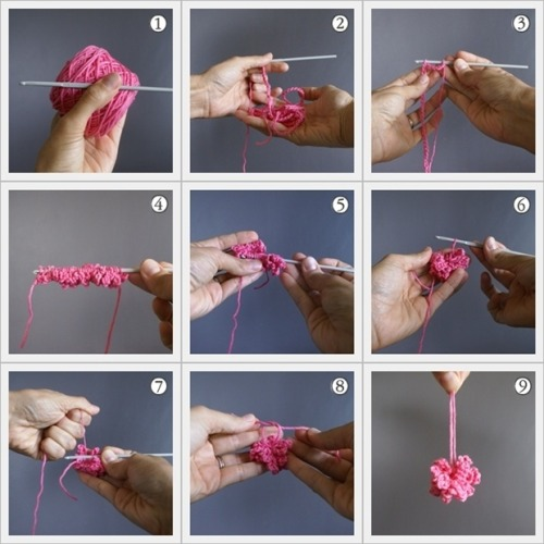 hooked-on-needles:  (via crochet a pom-pom (the 9 easy steps) - blog - i love pom-poms)