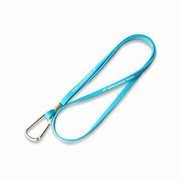Top-quality silicone lanyard All of the products passing the SGS, CE testing.Accept EXW price, post can be UPS,DHL,FEDEX,TNT,etc.,as per customers' request.Sample lead time:3-5days.Colors:All PMS colors availableSample can be free to provide