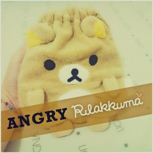 hopefeellove:  he was angry but still cute :D (Taken with instagram)