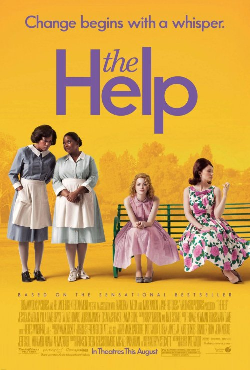 "coloredmondays:  ""Change begins with a whisper."" The Help (2011)"
