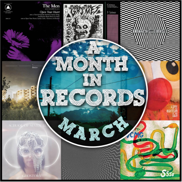 Late as usual, but we start the week with a mammoth review of a month in records. And if we missed something, that's what the comment section is for. Enjoy! (via A MONTH IN RECORDS: March 2012)