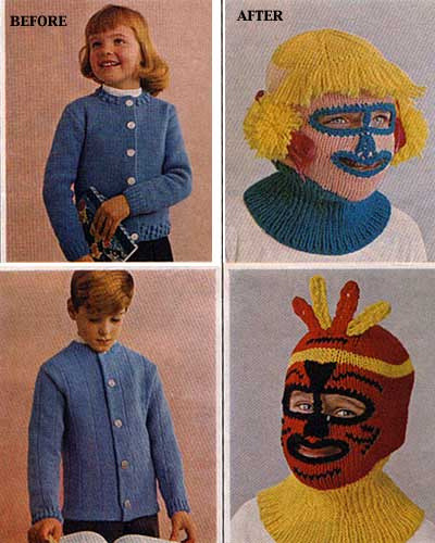 crochet aid for ugly children. by ashesmonroe on Flickr.
