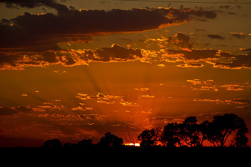 simplynorule:  June Sunset - explore # 42 (by Marvin Bredel)