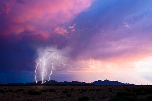 simplynorule:  Sunset Strikes (by sundevilstormin)