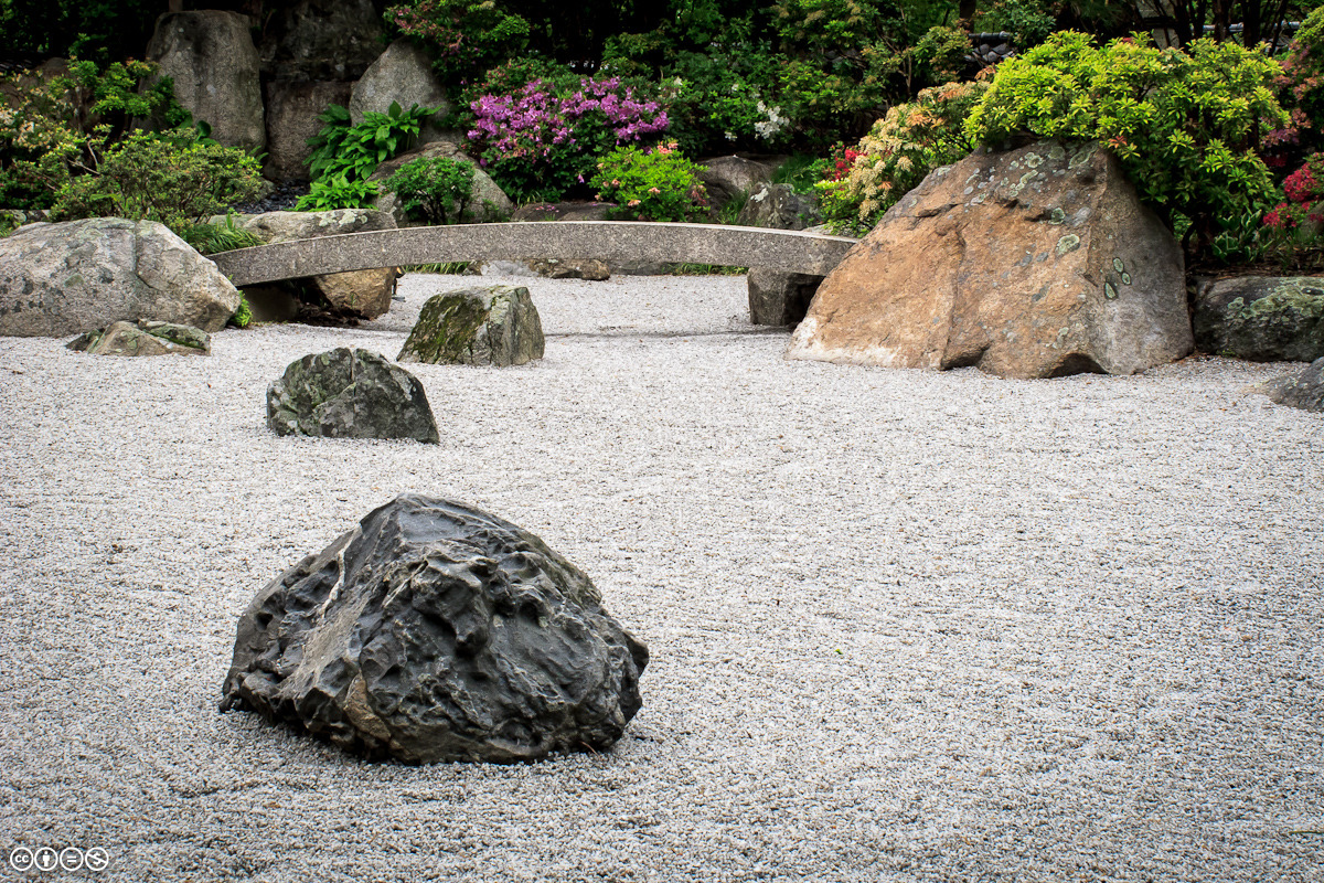 Tenshin-en, Japanese Garden, Museum of Fine Arts Boston When it comes to photographing gardens, you can't beat a cloudy day. It's nature's own softbox!
