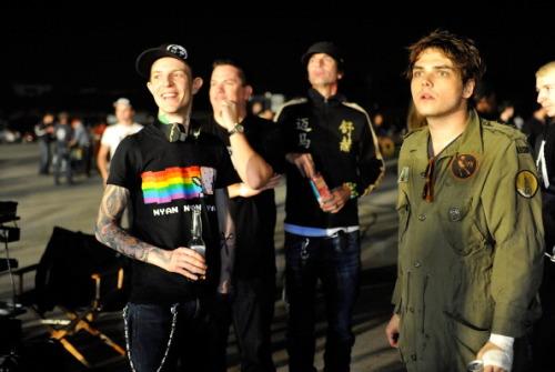 Gerard Way Professional Griefers Gerard Way and  darrendman on
