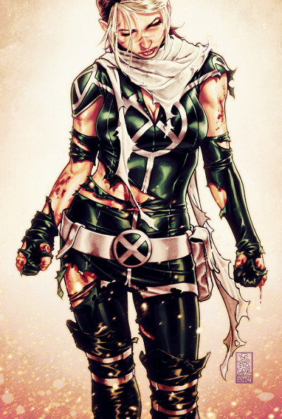 comicqueens:  Rogue by Mark BrooksCover of X-Men Legacy #262, February 2012