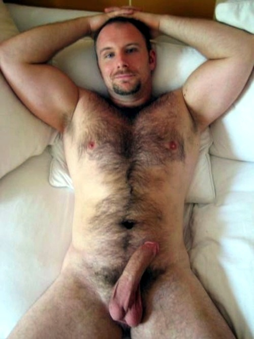 guysthatgetmehard:  good morning you hot hairy fucker