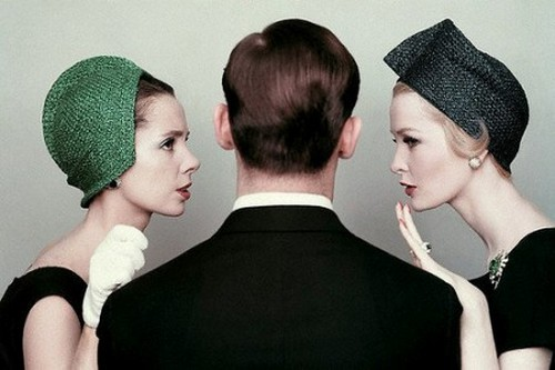 distinguishedcompany:  theniftyfifties: Betsy von Furstenberg and Sara Thom photographed by Richard Rutledge, 1959.