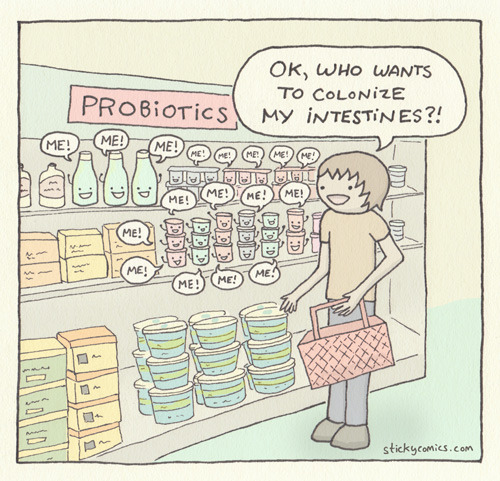 laughingsquid:  Probiotics