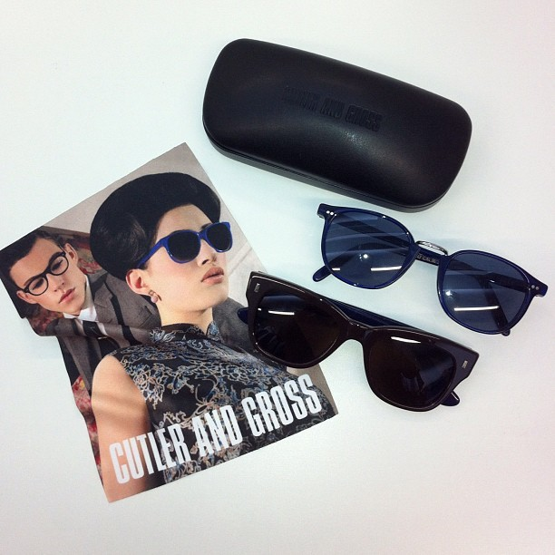 Keep an eye out for the new styles of Cutler & Gross sunglasses arriving on site tomorrow. Just in time for that vacation… (Taken with instagram)