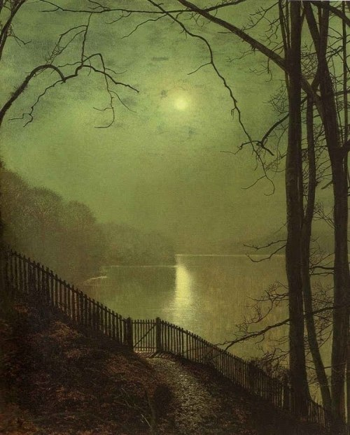 frenchtwist:  via rrrick:  By John Atkinson Grimshaw (1836-1893) Form is Void