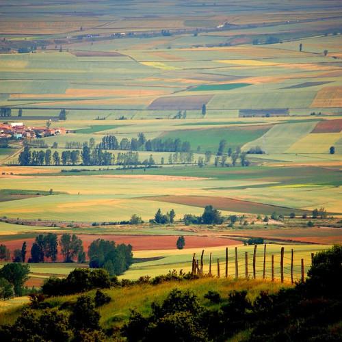 travelingcolors:  La Bureba, Castile and Leon | Spain (by Ignacio Lizarraga)