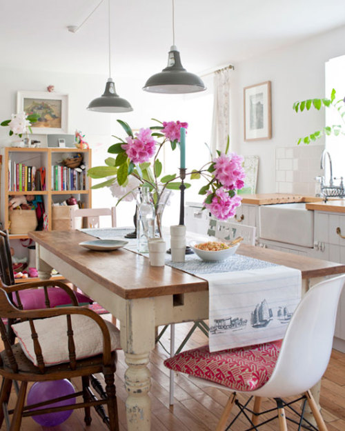 heartbeatoz:  (via sfgirlbybay / bohemian modern style from a san francisco girl)