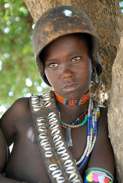 tribal-beauty:  Arbore girl - Omo Valley by JCH Travel on Flickr.