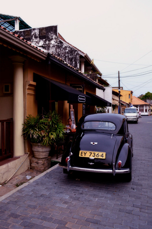 Morris Minor in Sri Lanka