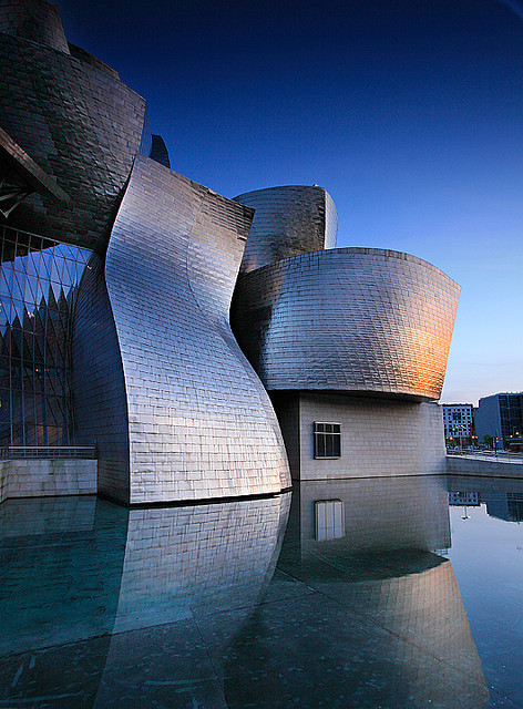 travelingcolors:  The Magic Window, Guggenheim Bilbao | Basque Country | Spain (by orvaratli)