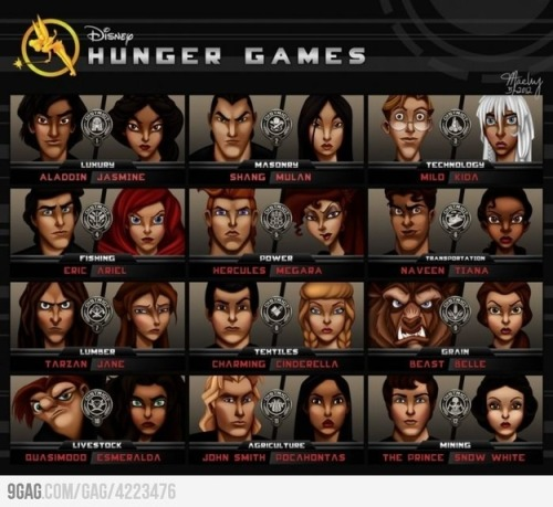 Disney does Hunger Games!