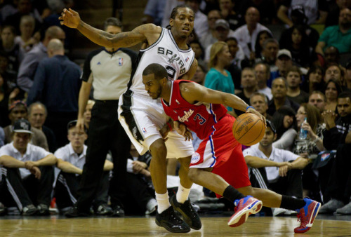 Chris Paul and the Los Angeles Clippers failed to get past the San Antonio Spurs who managed to stay perfect this postseason with a win last night. The Spurs were led by Tim Duncan to beat the Clippers 102-99 in game 4 of the series. San Antonio is the first team to get to the conference finals. They will play the winner of the Los Angeles/Oklahoma City series. Congratulations San Antonio!