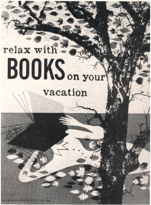 Relax with books on your vacation