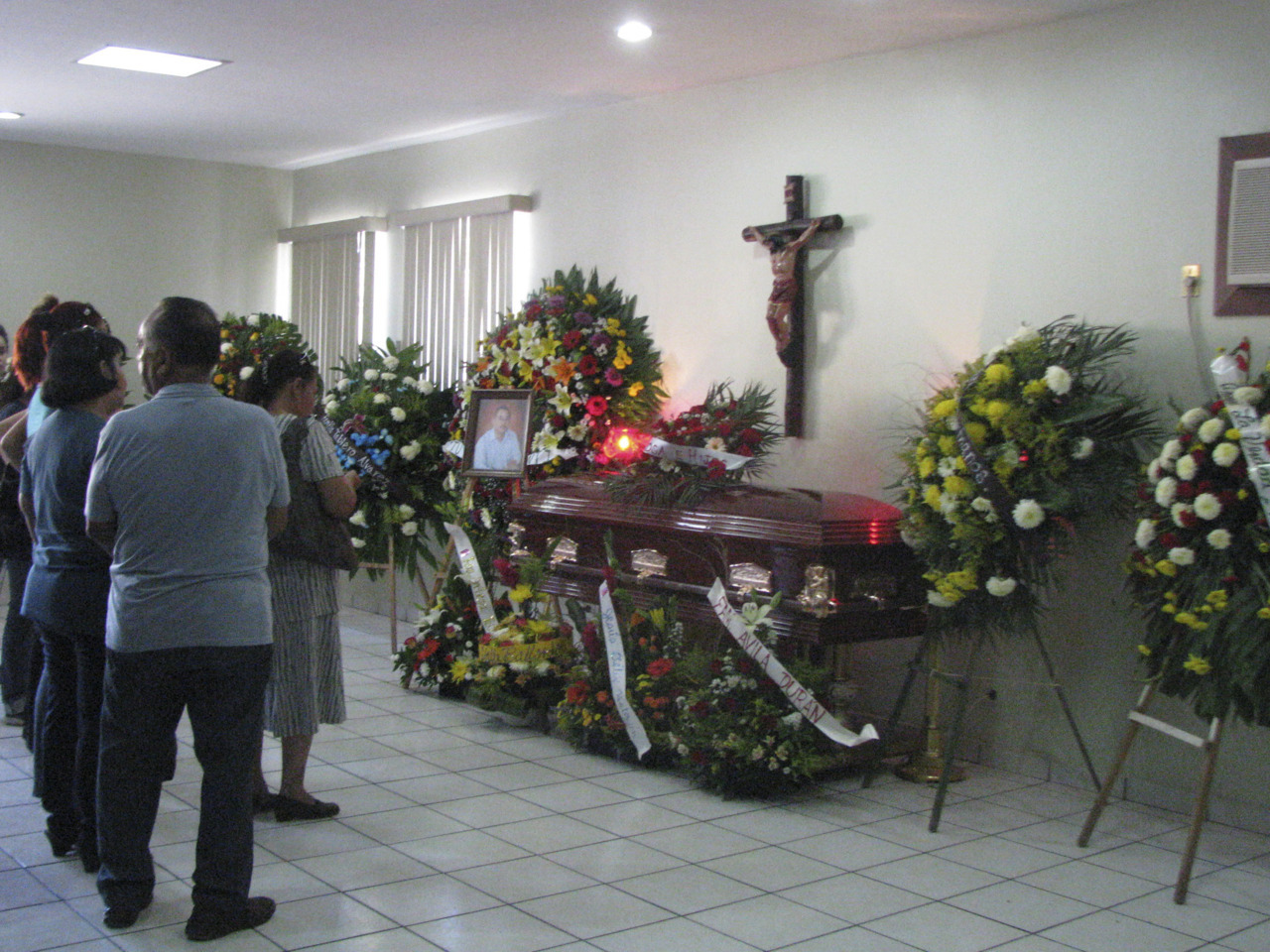 Marco Avila, a reporter in Sonora, Mexico was buried over the weekend after being found in a black garbage bag.  He's the sixth current or former journalist killed in Mexico in less than a month. Considering the number of gruesome atrocities committed by the country's drug cartels (the latest being the 49 decapitated, hand-less, foot-less bodies found on the side of a highway), it makes sense that the people covering the news in these areas have become targets too.  [Photo: REUTERS/Stringer] THE ATLANTIC WIRE: Being a journalist in Mexico can be deadly