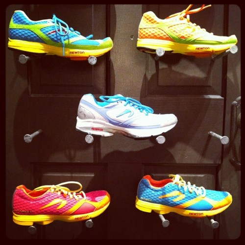#atlanta runners love Newtons (@sirisaac) - esp women @blast900 - bet u can guess why :) (Taken with instagram)