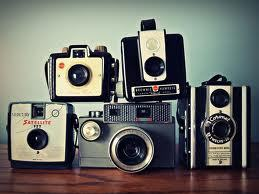 Vintage cameras. I collect them because nobody else seems to want them anymore. They don't always work but I still like them.