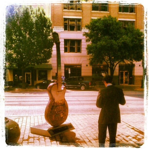 Congress Avenue #Austin #Texas #ATX #Austin, TX #Guitar (Taken with Instagram at Austin, TX)