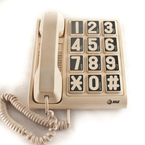 imremembering:  Big Ass Number Phones [Etsy]