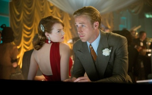 Emma Stone and Ryan Gosling in Gangster Squad!!