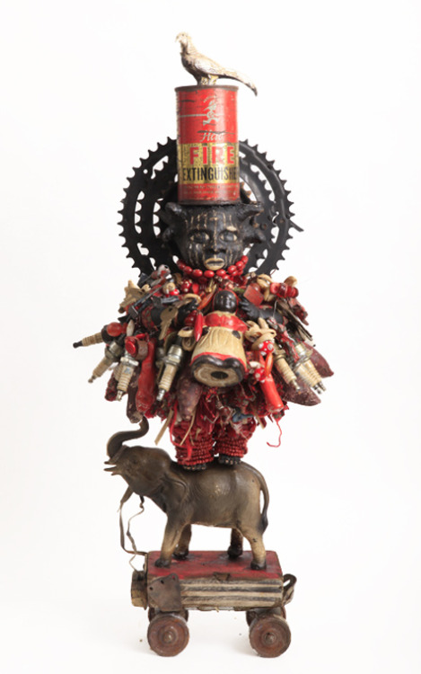 21stcenturyjuju:  Vanessa German Fire Extinguisher, 2011