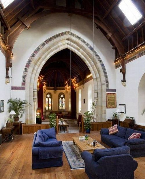 what do you think about converted churches?