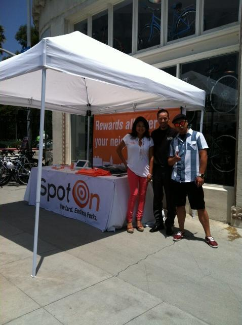 Thanks to everyone who came out and saw us at the Downtown L.A. Bikes Grand Opening this weekend! Happy to report that even the Mayor of Santa Monica is now carrying a SpotOn card.
