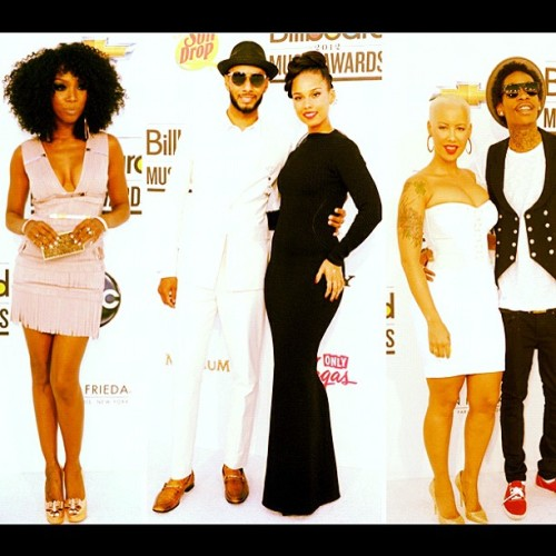 #billboardmusicawards #white #carpet #arrivals #brandy #aliciakeys #swizzbeatz #amberrose #wizkhalifa  (Taken with instagram)