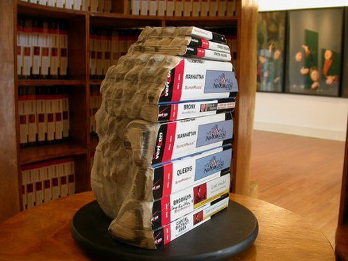 Book Carvings by Long Bin Chen | Oddity Central - Collecting Oddities on We Heart It. http://weheartit.com/entry/29032185