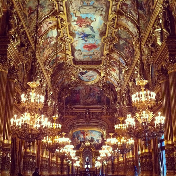 #Museedopera #Paris #opera #classic #world #architecture #artwork (Taken with instagram)