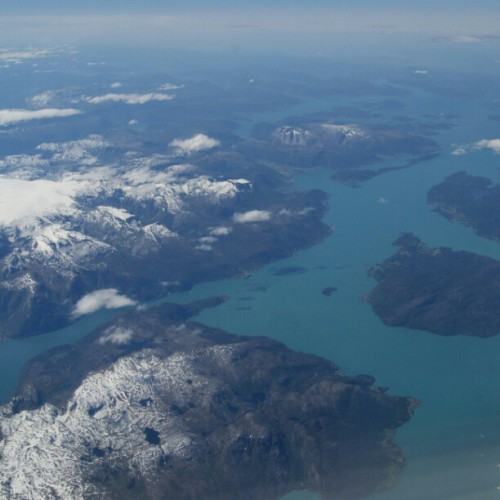 #norway #beautiful #water #mountains #snow (Taken with instagram)