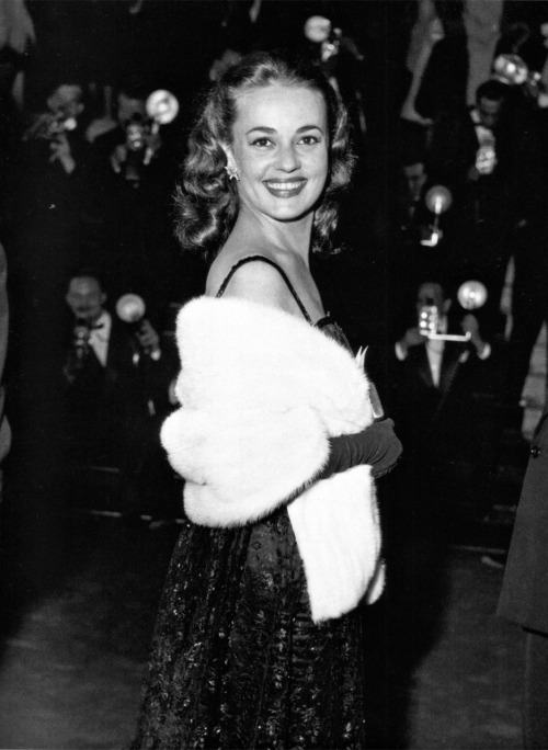 strangewood:  Jeanne Moreau at the 1958 Cannes Film Festival.