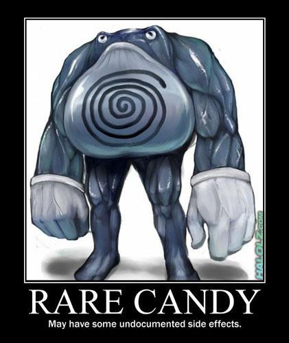 Pokemon, rare candy