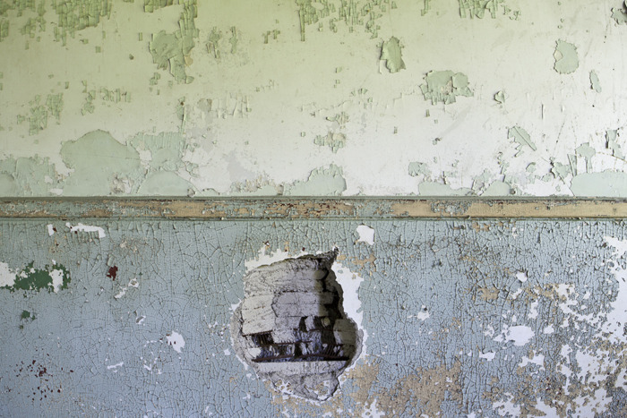 Wall, Munitions Depot, NY, 2012