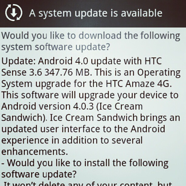 Woot! #goodmorning #android (Taken with instagram)